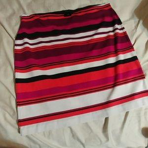 Ann Taylor multi color skirt